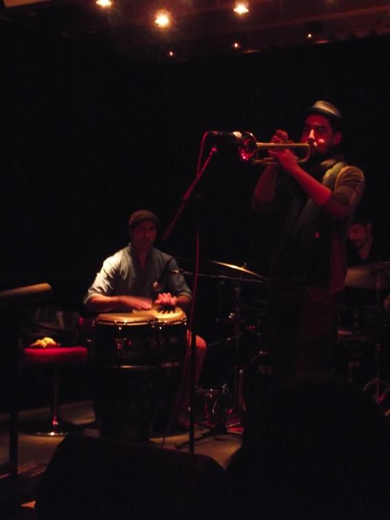 Latin Jazz jam session Marrula Bar