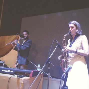 In India with Clive Vaz playing Bollywood and Jazz and world beats